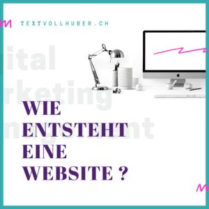 Was braucht eine Website?