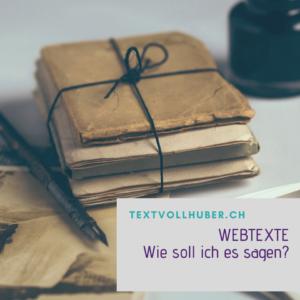 Webtexte schreiben