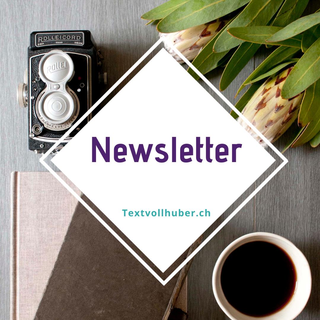 Newsletter Textvollhuber