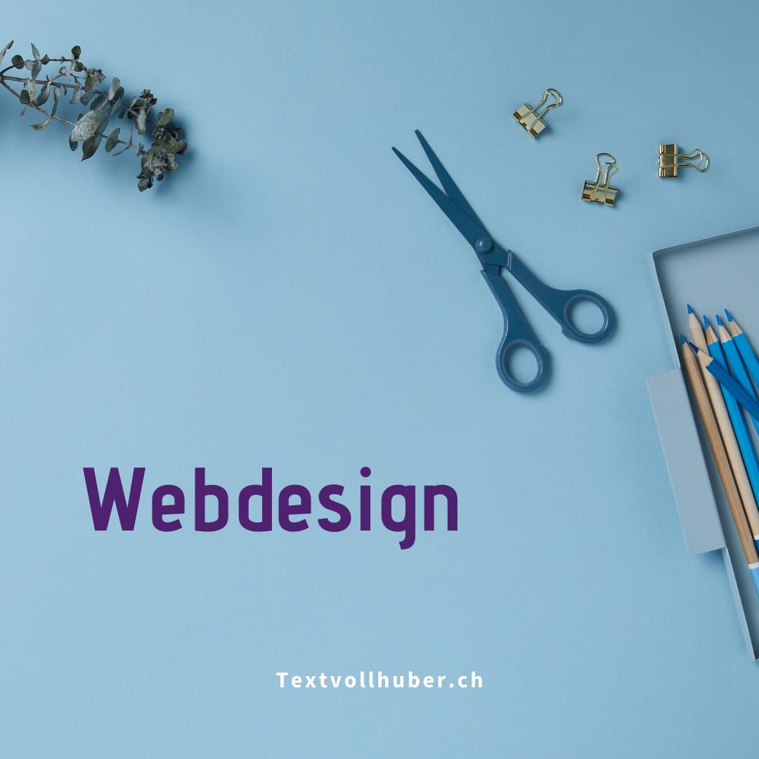 Webdesign Textvollhuber Regula Huber