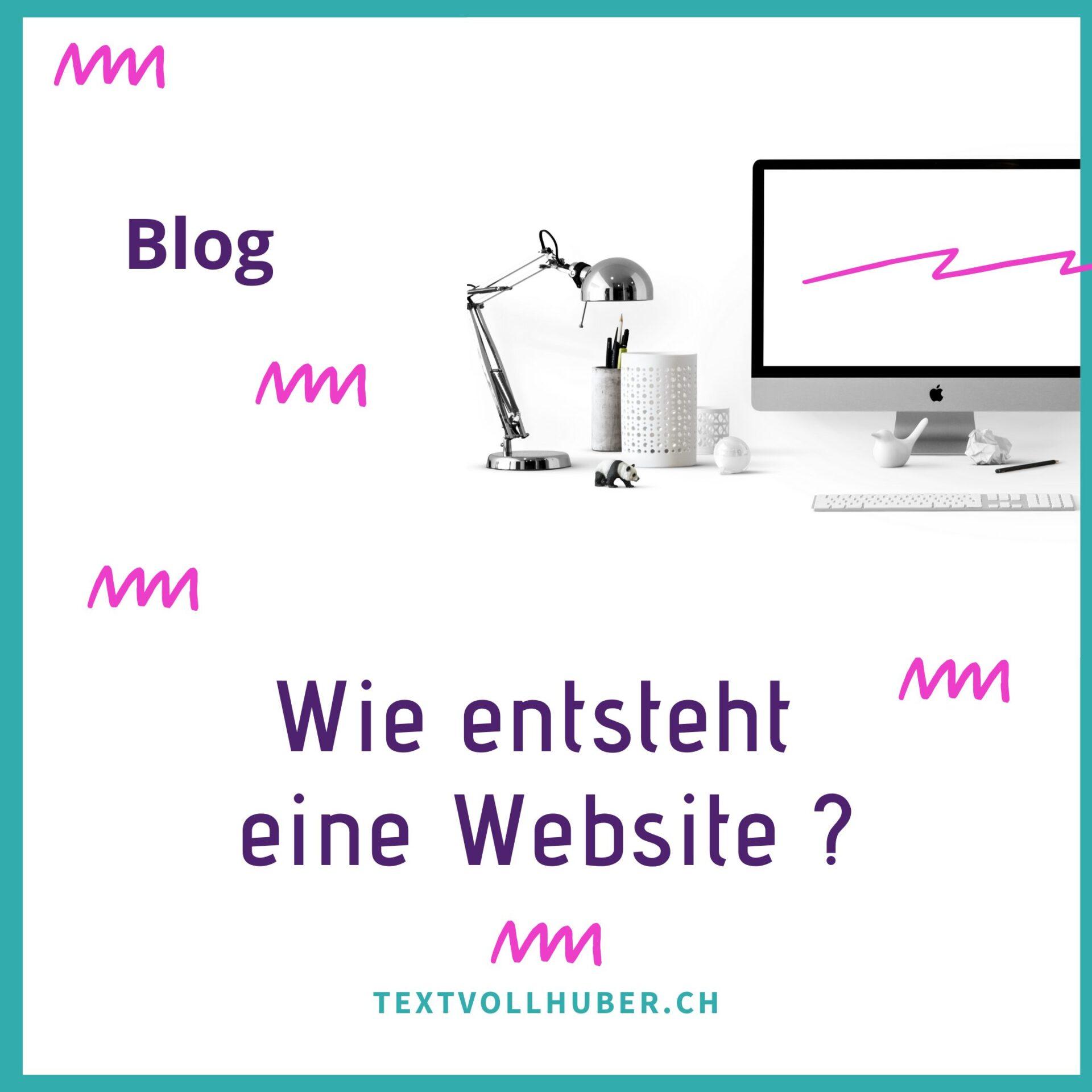 Webseite bauen
