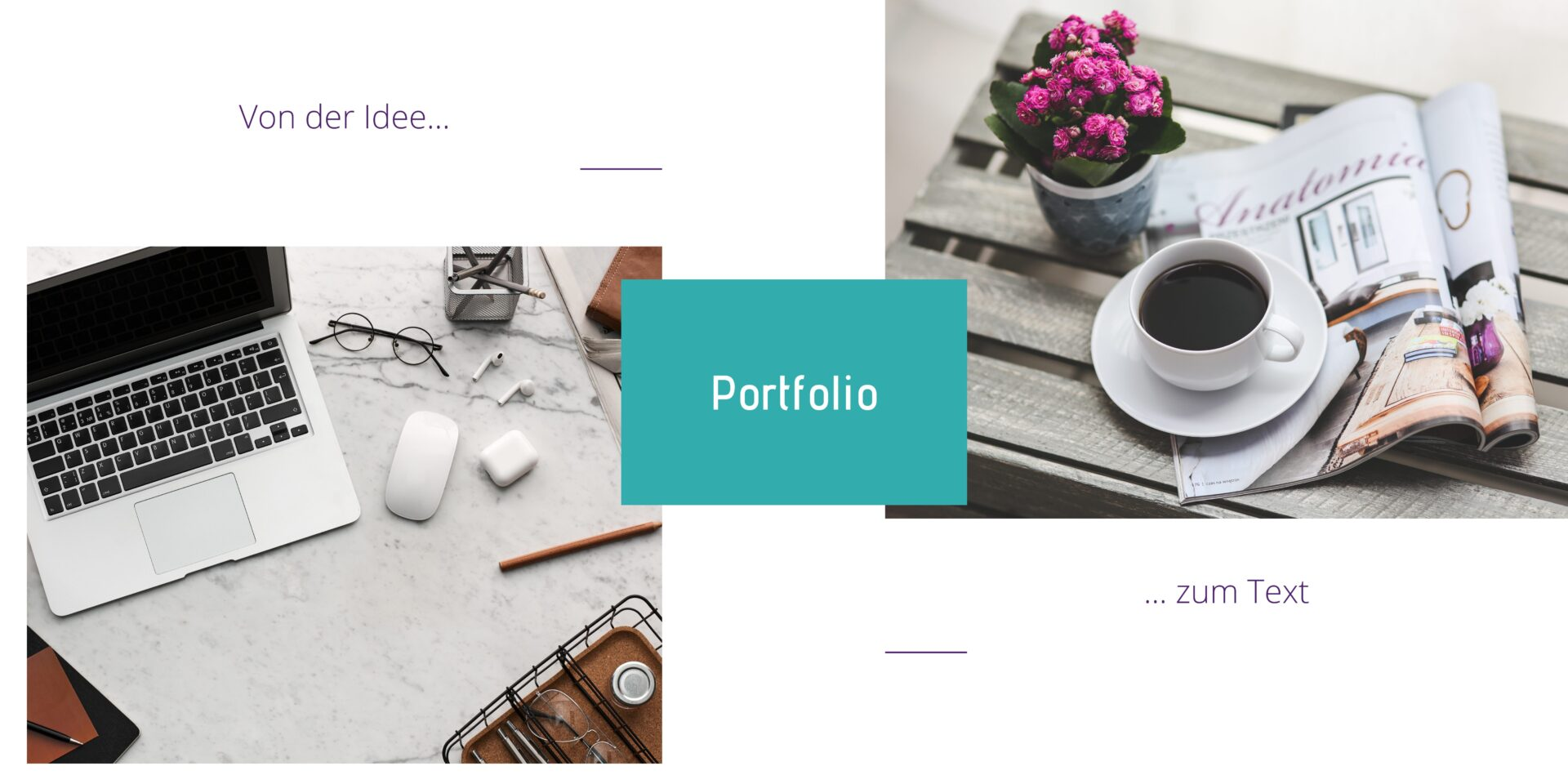 Textvollhuber Portfolio